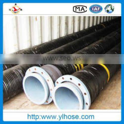 flexible water suction hose and discharge rubber hose made in China