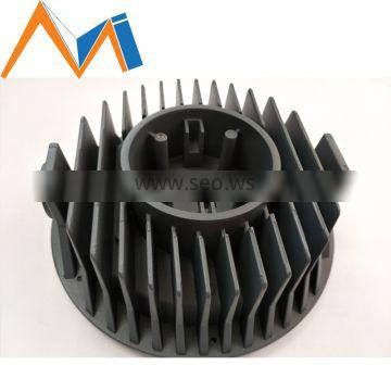 Popular Aluminum Extrusion Radiator Die Casting for LED Light
