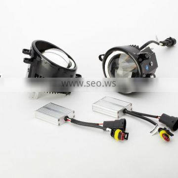 Dual lens enhancing lighting LED fog car lamp for Peugeot 3008 (13-15) with high range looking, best price and high quality