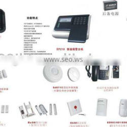 Intrusion detection and prevention alarm
