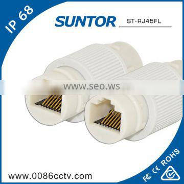 Anti-aging 3.5mm cat7 connector rj45 cable sheath with factrory price