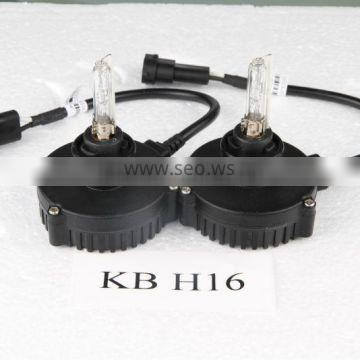 Factory supply ! ISO9001 certifitation xenon hid headlight bulbs hid lights for KB H16