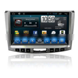 1024*600 Free Map Android Double Din Radio 1080P For Kia