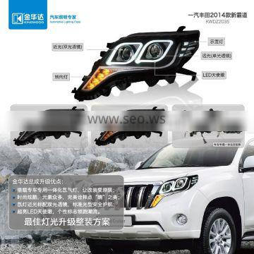 Headlight for toyota fortuner made in germany bulbs for Toyota Prado 2014