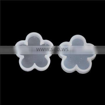 Silicone DIY Tools Resin Mold Flower White 32mm x 31mm