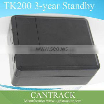 Cantrack gsm car tracker with no installation and 3 years standby TK200