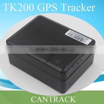 Cantrack gps tracker for car with no installation and 3 year standby TK200