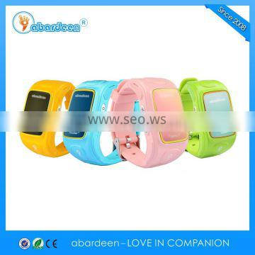 High definition communication strong network signal kids gps tracker watch