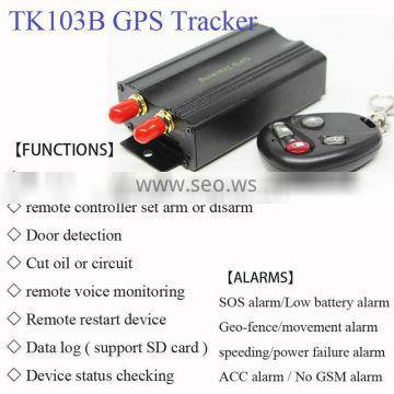 Hotsale engine immobilizer gps car tracker tk103b tracker
