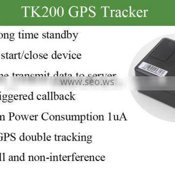 Remote turn/off GPS tracker TK200
