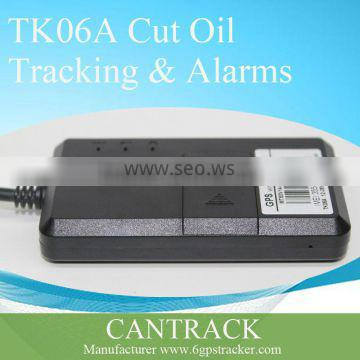 vehicle tracking system TK06A stopoil real time tracking vehicle gps tracker