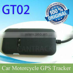 Free tracking software Vehicle /Motor gps tracker GT02 with relay to kill engine