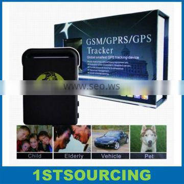 Small GPS Tracking Device for personal/vehicle/Pet gps tracker TK102B