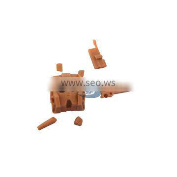 Reliable quality OEM Resin ABS red wax Plastic CNC 3d Prototype rapid prototyping/ SLA SLS 3d printing service