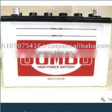 High Quality 75 AH 12 Volt Dry Charged Battery