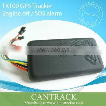 Mini Gps vehicle real time online tracking, GPRS tracker TK100 best-selling cheap gps tracker tk100