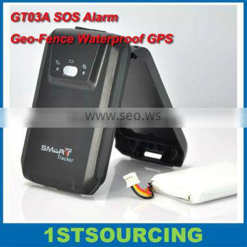 Car GPS GT03A Alarm Geo-Fence Waterproof long standby battery automatical alarm global position service