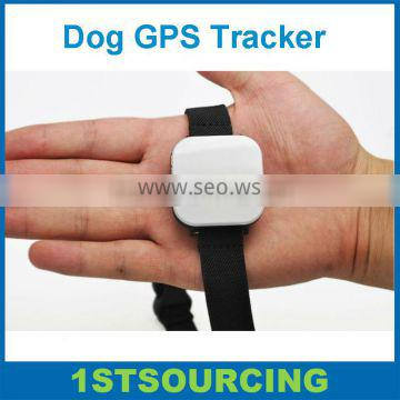Mini Dog GPS Tracker with real-time tracking