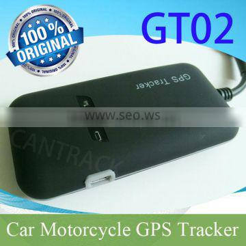 New Vehicle GPS Tracker GT02 with GSM & GPS antennas and SOS alarm