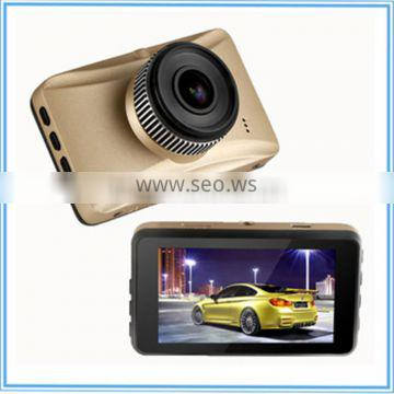 Build In 12 LED Light car dvr Night Vision !3.0 Inch NTK 96220 HD 720P Car DVR C600N With 120 Wide View Angle