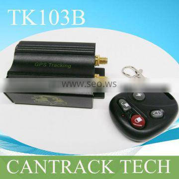Universal vehicle GPS Tracker TK103B With remote control,web tracking platform and realtime tracking app for Android&IOS devices