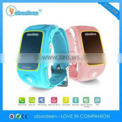 wholesal small tracking device bracelete phone watch for children