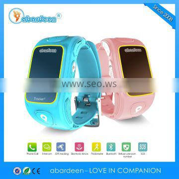 2016 china product with sim card best gps tracker mini watches for kids