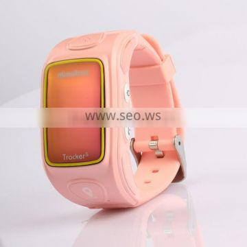 Newly Watch Wristwatch GPS GSM GPRS Tracker Mobile Phone For Child Kid