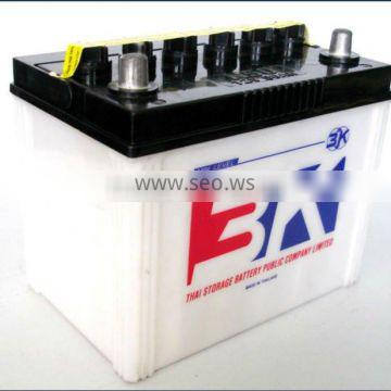 High Quality 50AH Dry Charged Automotive Battery
