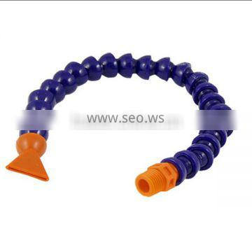 3/8 Flat Nozzle Oil Water Flexible Coolant Pipe