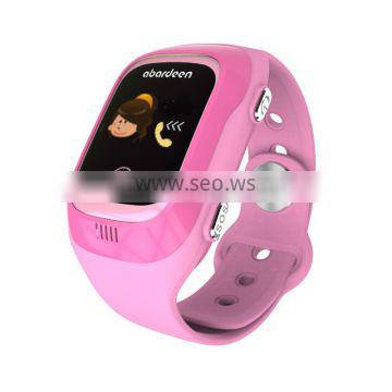 Most popular latest wrist watch mobile phone with gps tracking bracelet device