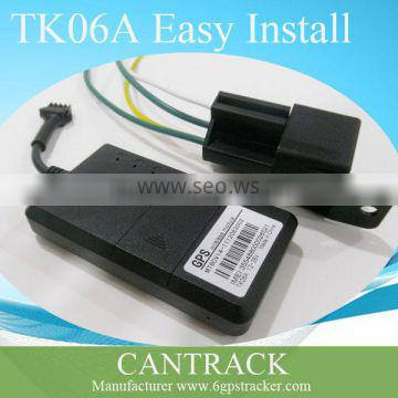 TK06A Mini Engine cut off motorcycle tracking geolocation real time tracker