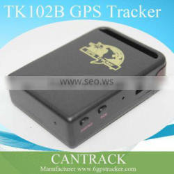 Best price gps memory card tracker TK102B portable mini gps tracker free software tracking with mangnative cover