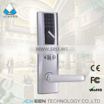 card and password locks for home