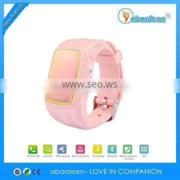 smart Android tracking sos wrist multifunction anti-kidnapping child wholesale emergency cheap geo tech kids gps watch