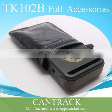 TK102B Quad band SD card slot anti-theft mini hiden tracker SOS alarm by SMS for child ,kidsnapping