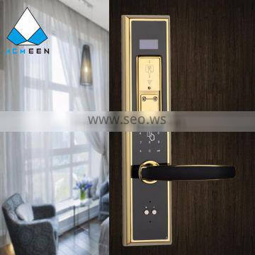 electronic fingerprint read lock with password function