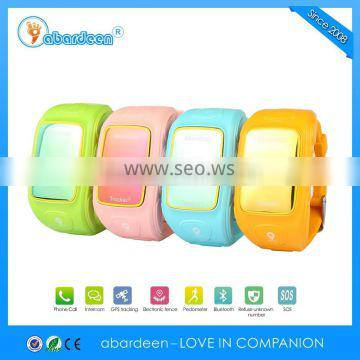 OLED cold light display HD OSD power saving kids gps tracker with SOS function