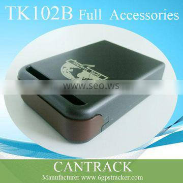 TK102B with car charger, Mini Global Real Time GSM/GPRS Tracking Device,TK102B gps tracking