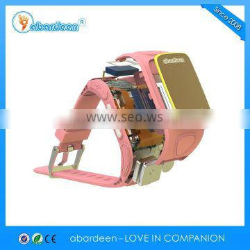 Two way communication like a cellphone kids gps tracker smart watch
