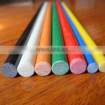 Solid colorful high strength durable flexible FRP Rod