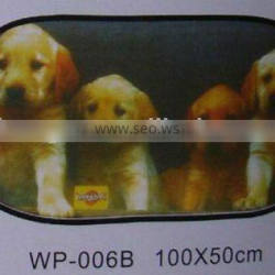 Promotional mesh fabric Sunshades for car/auto rear window blind