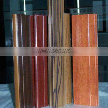 wooden grain aluminum window profile,aluminum extrusion