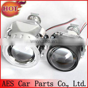 FAMOUS!! AES Mini bi-xenon Projector lens,h1 bulb,auto headlight