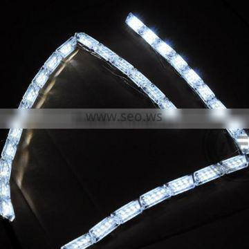 2015 AES Top Sale Good quality LED DRL A2 A3 crystal LED strip light