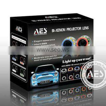 AES projector hid xenon light mini h4 projector