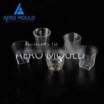 Disposable plastic aviation cup container mould