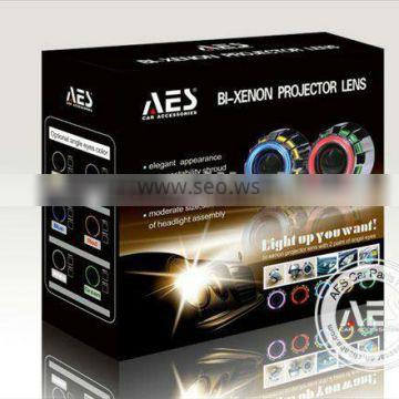 AES brand new halo light ring h4 projector lens