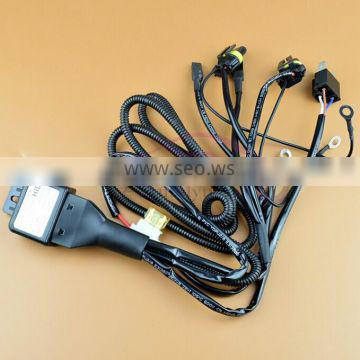 AES Good quality HID bi xenon H4 Wire harness for 35W and 55W for projector lens