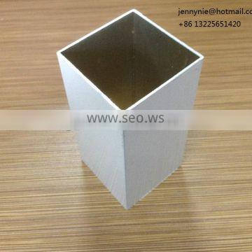White color powder coating aluminum profile